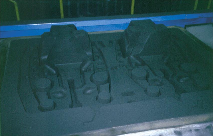 GEORG FISCHER green sand molding