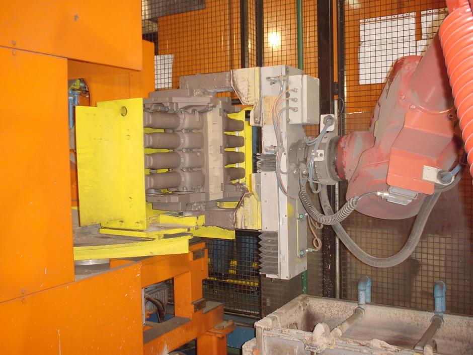 HDTAF core making